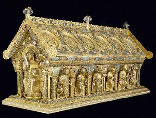 Relikviář sv. Maura po restaurování - foto A. Šumbera