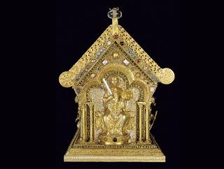 Relikviář sv. Maura (čelní pohled) - foto A. Šumbera