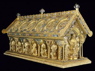Relikviář sv. Maura - skvělý turistický magnet pro Karlovarský kraj. Bohužel, tamní hejtman neměl zájem filmařům pomoci - foto A. Šumbera