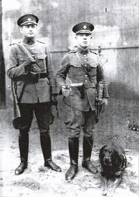 Ladislav Havlíček se psem Gurtem