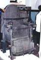 Mučící křeslo z Muzea v Scharnsteinu