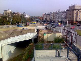 "Tunel BLANKA - stavba ""Malovanka"" - 14.10.2008"