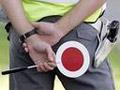 Ilustrace - policista v akci