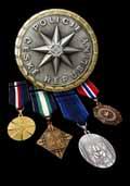 Medaile Policie ČR (1. řada)