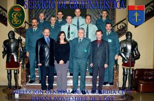 Na pracovní návštěvě u španělské Guardia Civil