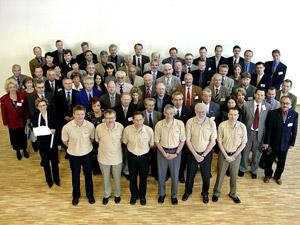 Setkání představitelů ENFSI ve švédském univerzitním městě Linköpingu (květen 2002)
