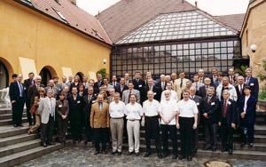 Setkání představitelů ENFSI v Praze (Spiritka) - květen 2001