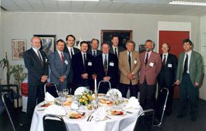 Osobnosti, které založili ENFSI na poslední schůzce před vytvořením ENFSI v Římě v r. 1994