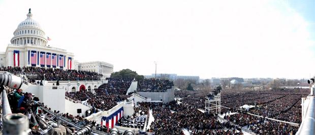 Inaugurace prezidenta Baraka Obamy ve Washingtonu 20. 1. 2009